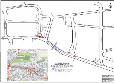 Sperrung Helbigstraße vom 18.10. - 30.10.2021