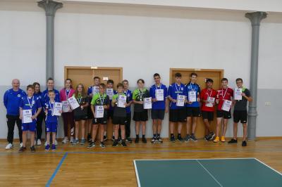 Kreiseinzelmeisterschaften des Tischtennisnachwuchses in Meuro