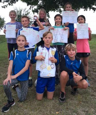 Junge Langenselbolder Leichtathleten in Hochform