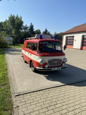 Feuerwehrfahrzeug Barkas B1000 (Foto: Stadtverwaltung Treuenbrietzen)
