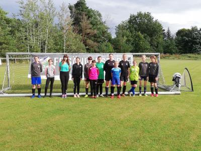 Ein Tag rund um den Mädchenfußball beim FC Sängerstadt