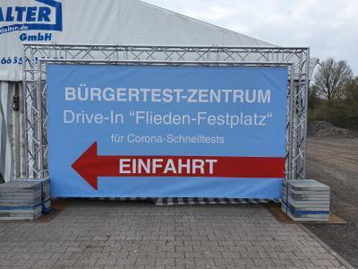 Bürgertestzentrum in Flieden weiter geöffnet - Neuregelung ab 11. Oktober 2021