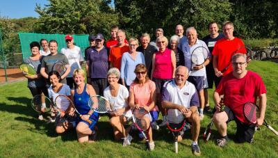 Saisonabschluss Tennis