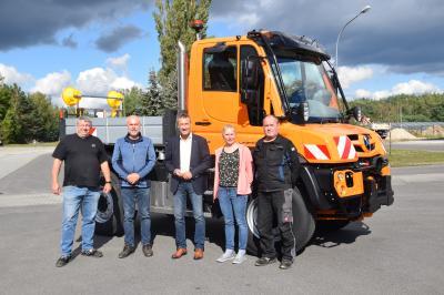 PS-starke Unterstützung für den Bauhof der Gemeinde Schipkau
