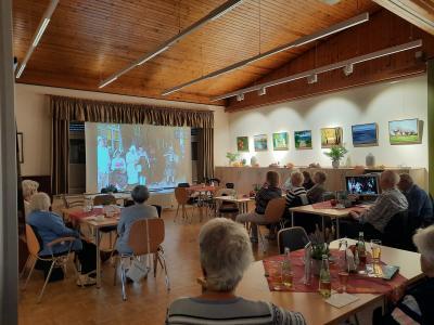 Foto zur Meldung: Die Aktive Bürgerschaft Holzwickede erinnerte an alte Zeiten des Vereins Begegnungsstätte Seniorentreff Holzwickede e.V. am 07. Oktober 2021