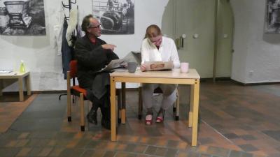 Foto zur Meldung: Demenz-Erkrankung im Schauspiel dargestellt