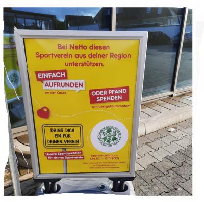 Netto Osterode und Netto in Herzberg helfen dem HSV