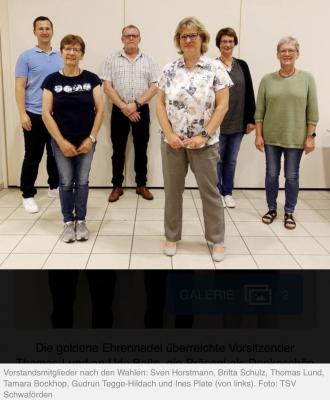 TSV Vorstandswahlen 2021
