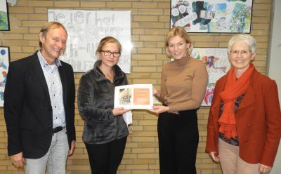 Gewählte Bundestagsabgeordnete besucht Gesamtschule
