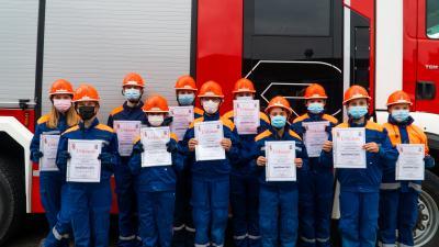 Bild der Meldung: Erfolgreiche Abnahme der Jugendflamme Stufe 1 in der Samtgemeinde Jesteburg