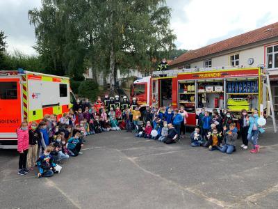 Brandschutzerziehung, ein wichtiges Themain Schule &Kindergarten.