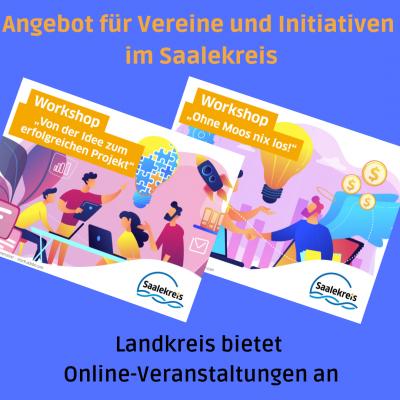 Angebot für Vereine und Initiativen im Saalekreis
