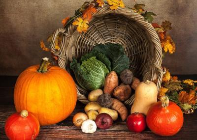 Herbstlich-bunt wird es beim PriMa-Treff im Oktober auf dem Pritzwalker Marktplatz. Quelle: Sabrina Ripke/Pixabay