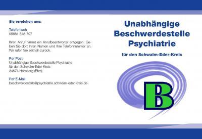 Erreichbarkeit Unabhängige Beschwerdestelle Psychatrie