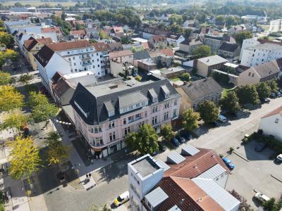 der zukünftige Standort der Stadtbibliothek in der Bahnstraße I Foto: Torsten Kaiser