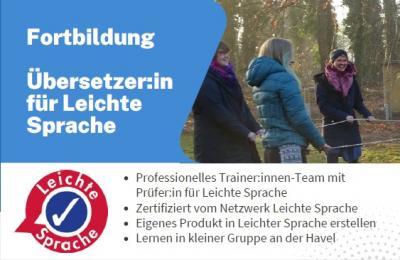 Foto zur Meldung: Fortbildung Übersetzer:in für Leichte Sprache - noch wenige freie Plätze