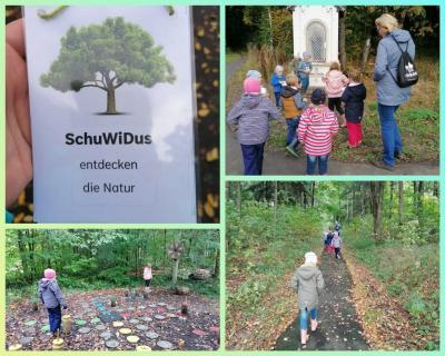 Kita Zwergenland - SchuWiDuS entdecken die Natur