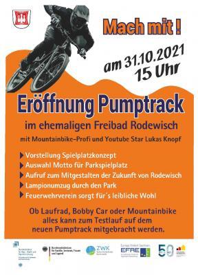 Eröffnung Pumptrack