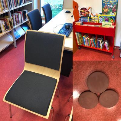 Neues Mobiliar für unsere Bibliothek