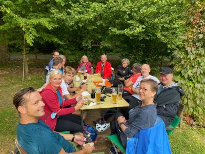 Foto zur Meldung: Kurzbericht Mountainbike / Fahrradtour  26.09.2021