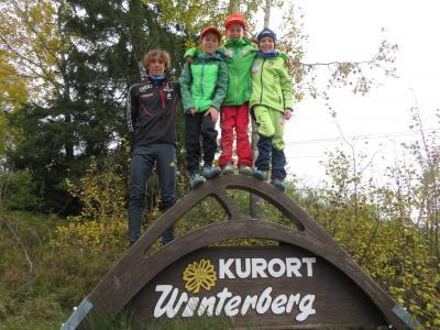 Foto zur Meldung: Deutscher Schülercup in Winterberg / Erik gewinnt zweimal Bronze