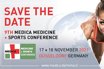 Bild der Meldung: MEDICA MEDICINE + SPORTS CONFERENCE: Tickets für Nachwuchswissenschaftler*innen