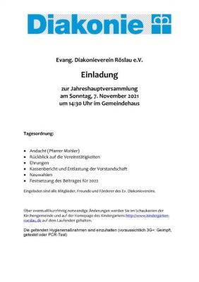 Vorschaubild der Meldung: Jahreshauptversammlung Diakonie