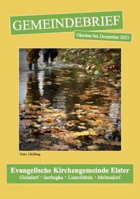 Foto zur Meldung: Gemeindebrief Oktober-Dezember 2021