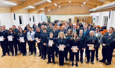 Foto zu Meldung: Jahreshauptversammlung Alheimer Feuerwehren