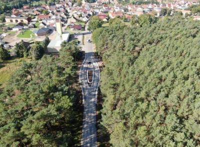 Foto zur Meldung: Brücker Straße in Golzow wieder frei