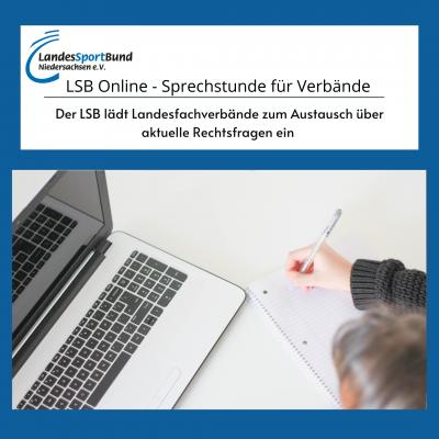 LSB Online - Sprechstunde für Verbände