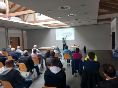 Vorschaubild der Meldung: Gut besuchter Vortrag zur Fließpfadkarte für Immenhausen