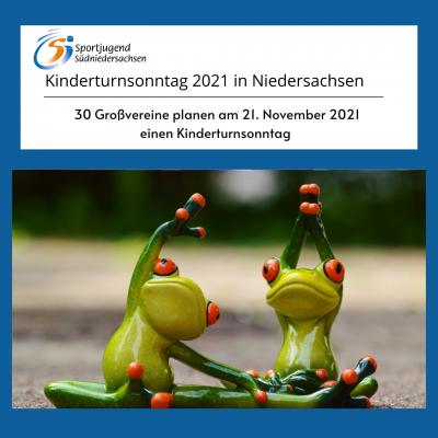 Kinderturnsonntag 2021 in Niedersachsen