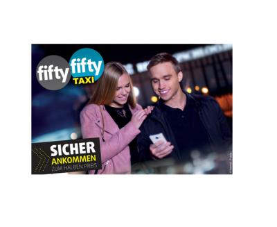 Bild der Meldung: Fifty-Fifty-Taxi kommt