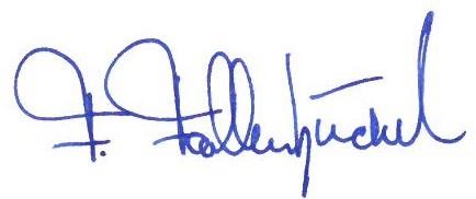 Unterschrift BM Fallenbüchel