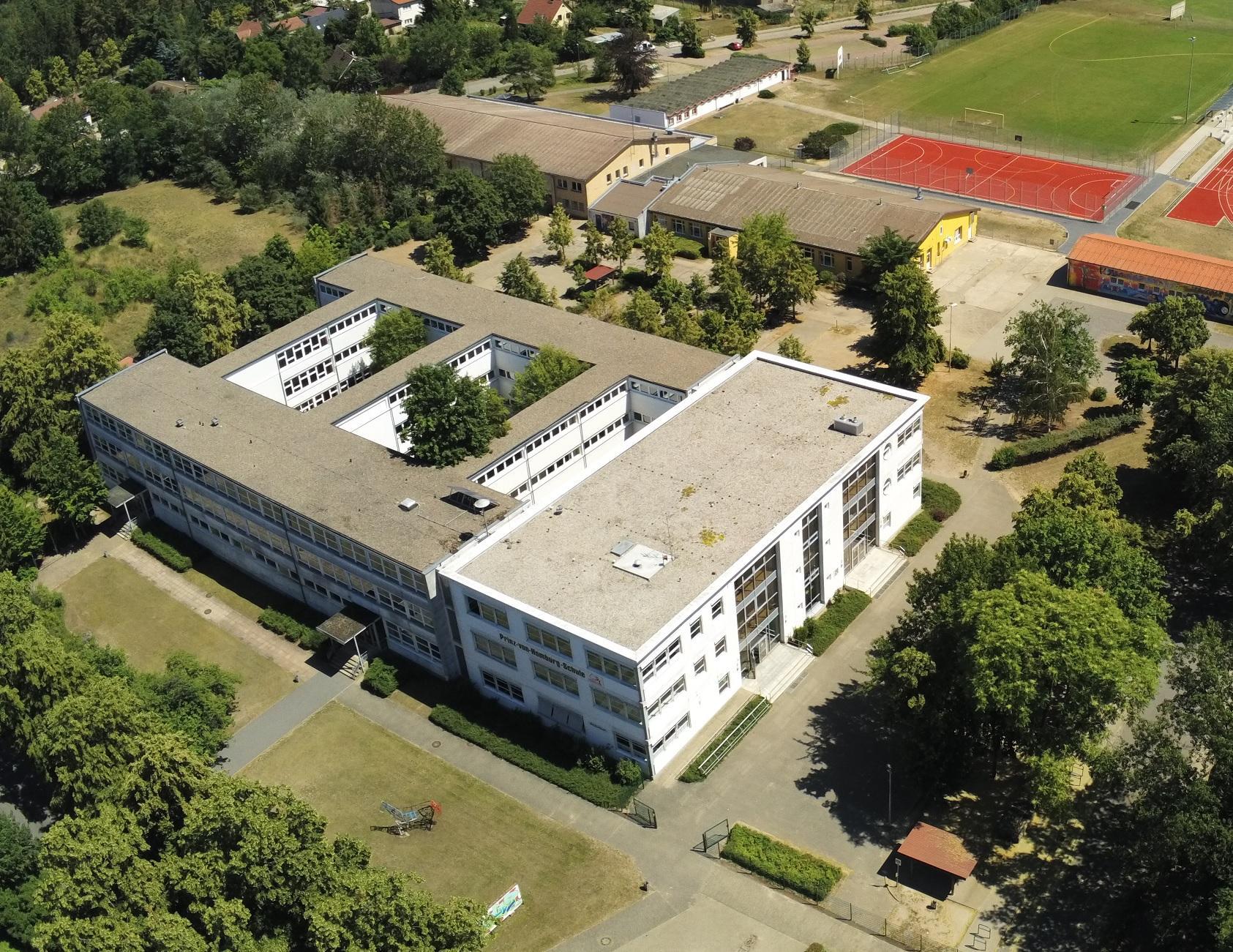 Schule Neustadt Luftbild