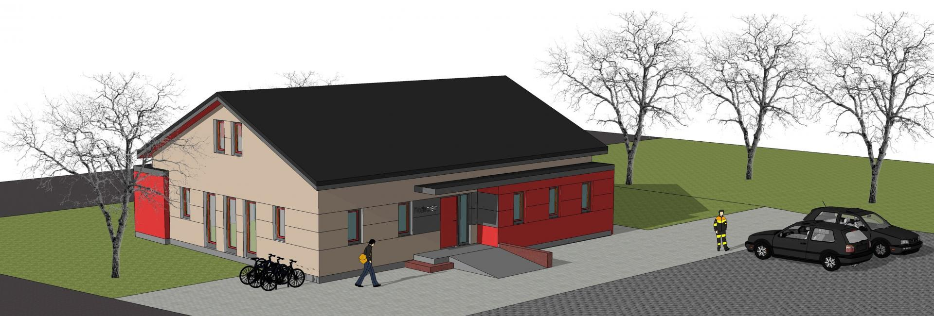 Entwurf Dorfgemeinschaftshaus