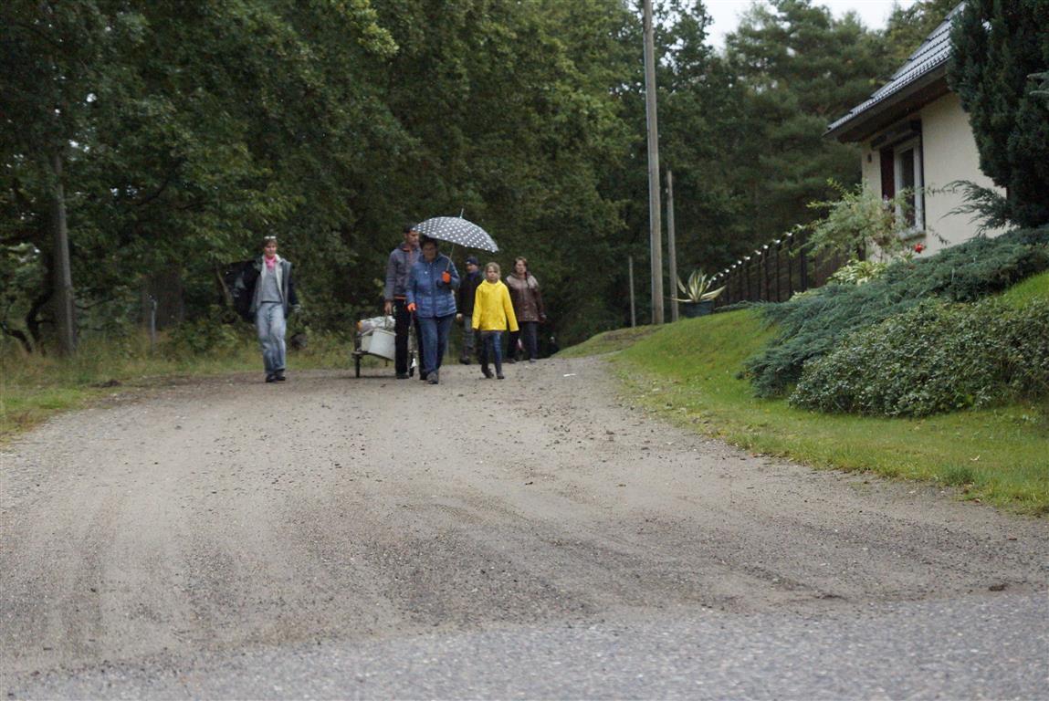 Sammler erreichen Sieversdorf