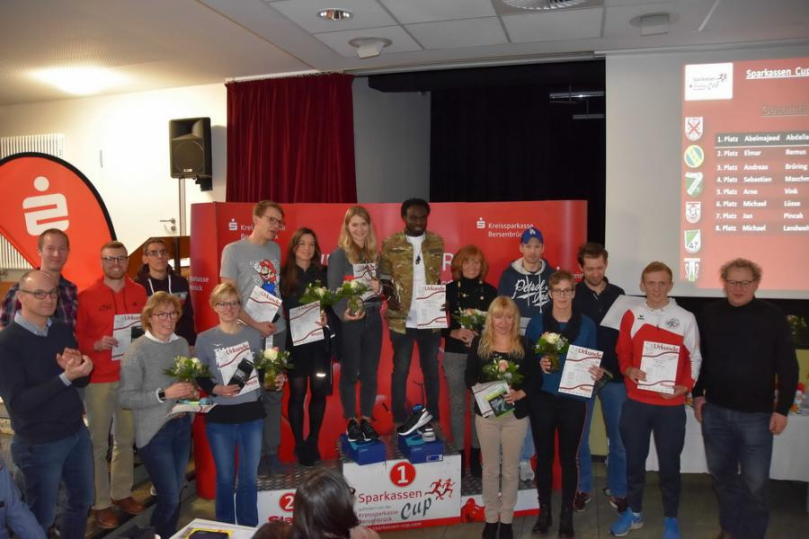 Gesamtsieger Damen und Herren Sparkassen Cup