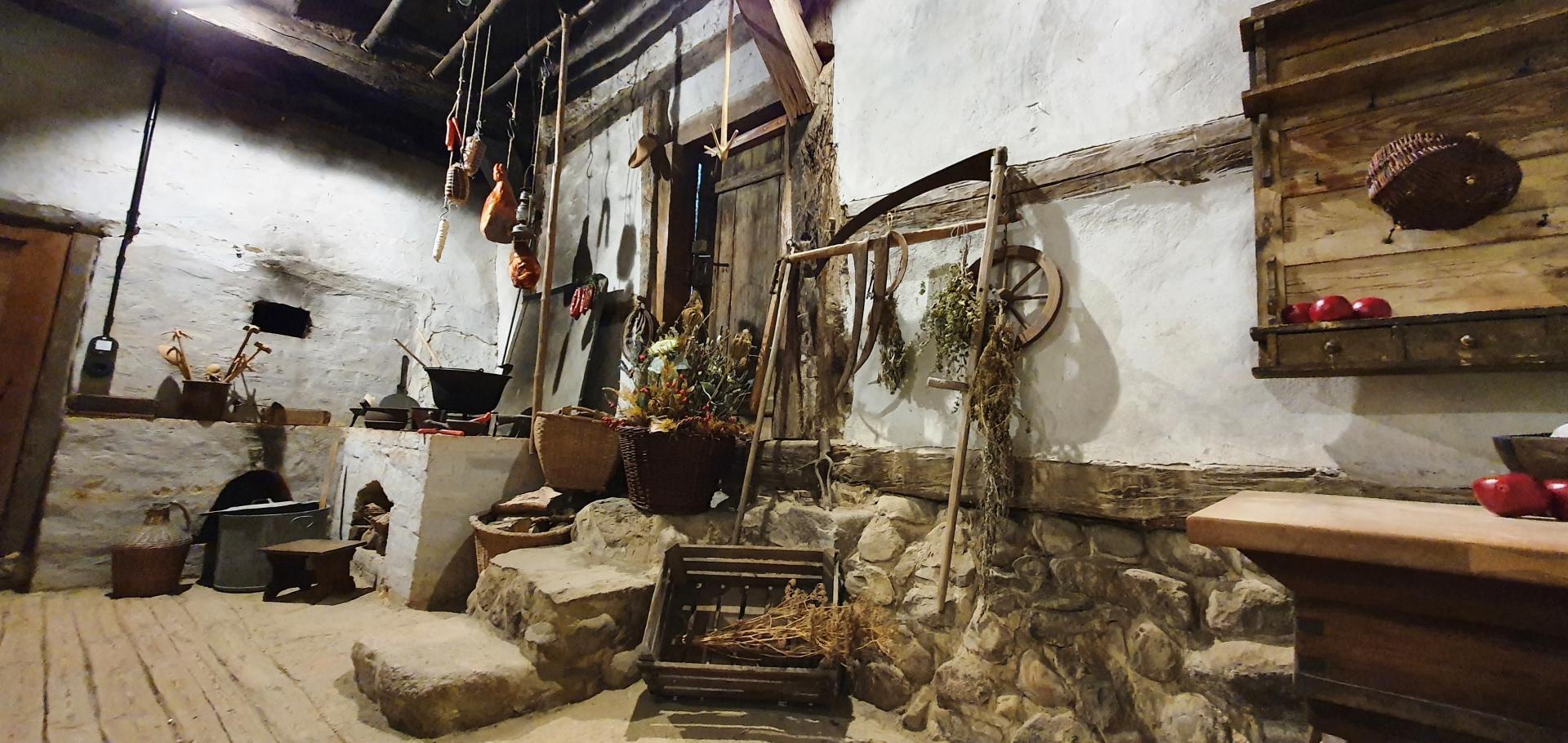 Ältestes Haus Küche