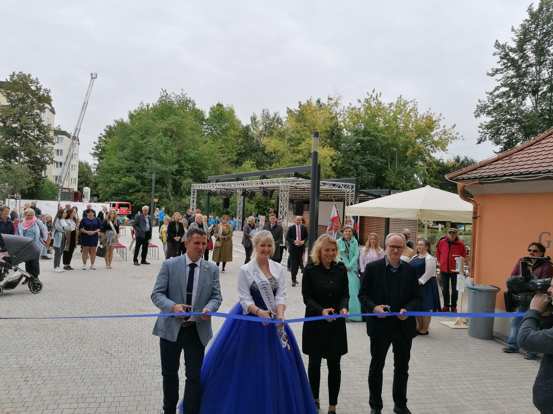 Eröffnung Kurpark