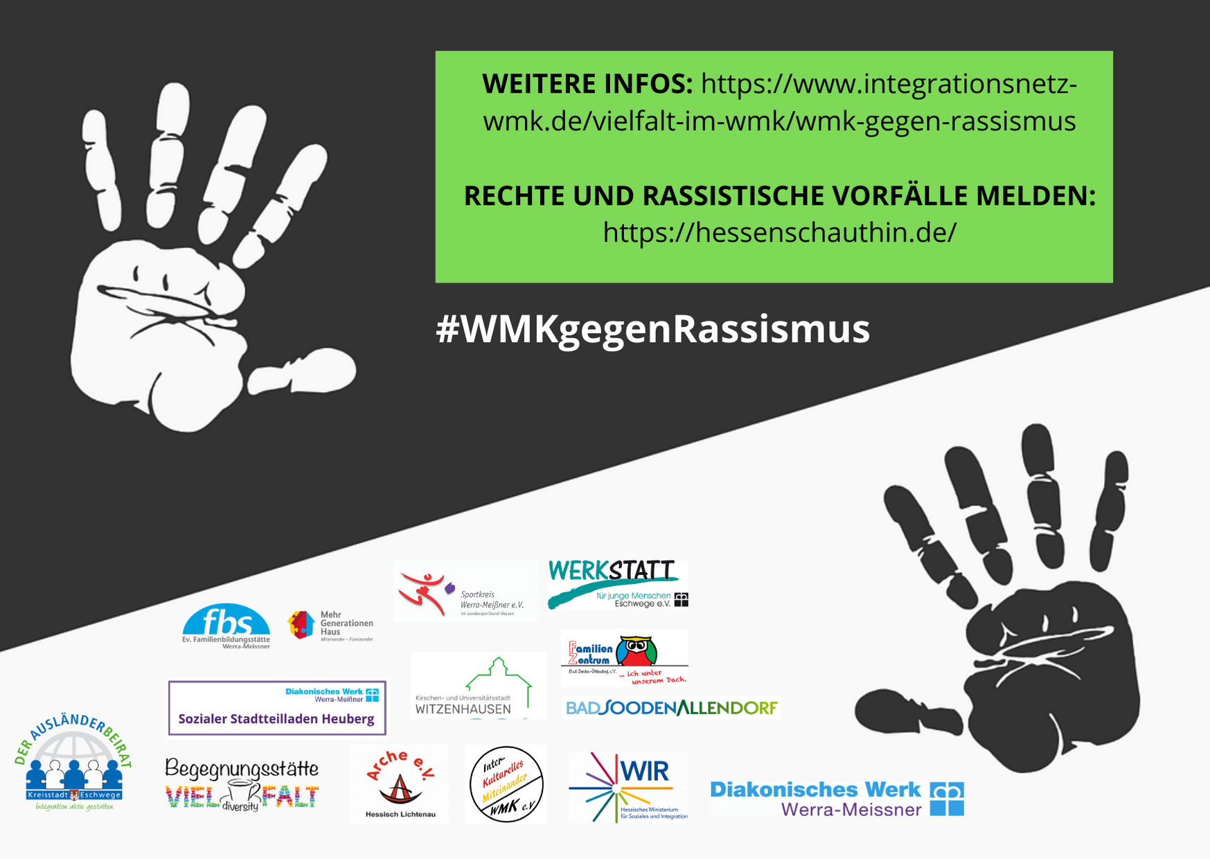 Gegen Rassismus im WMK