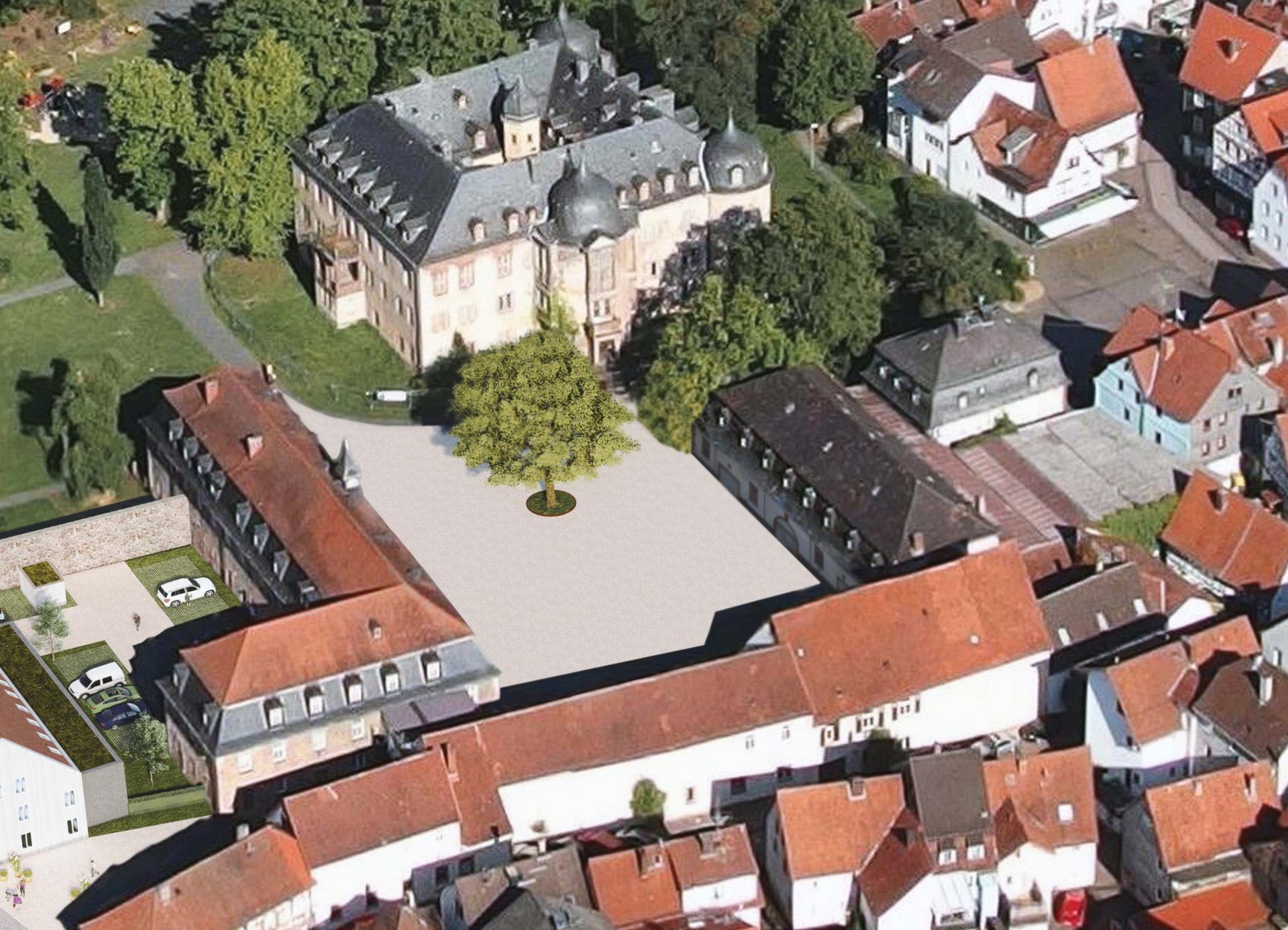 Schlosshof als neuer öffentlicher Ort