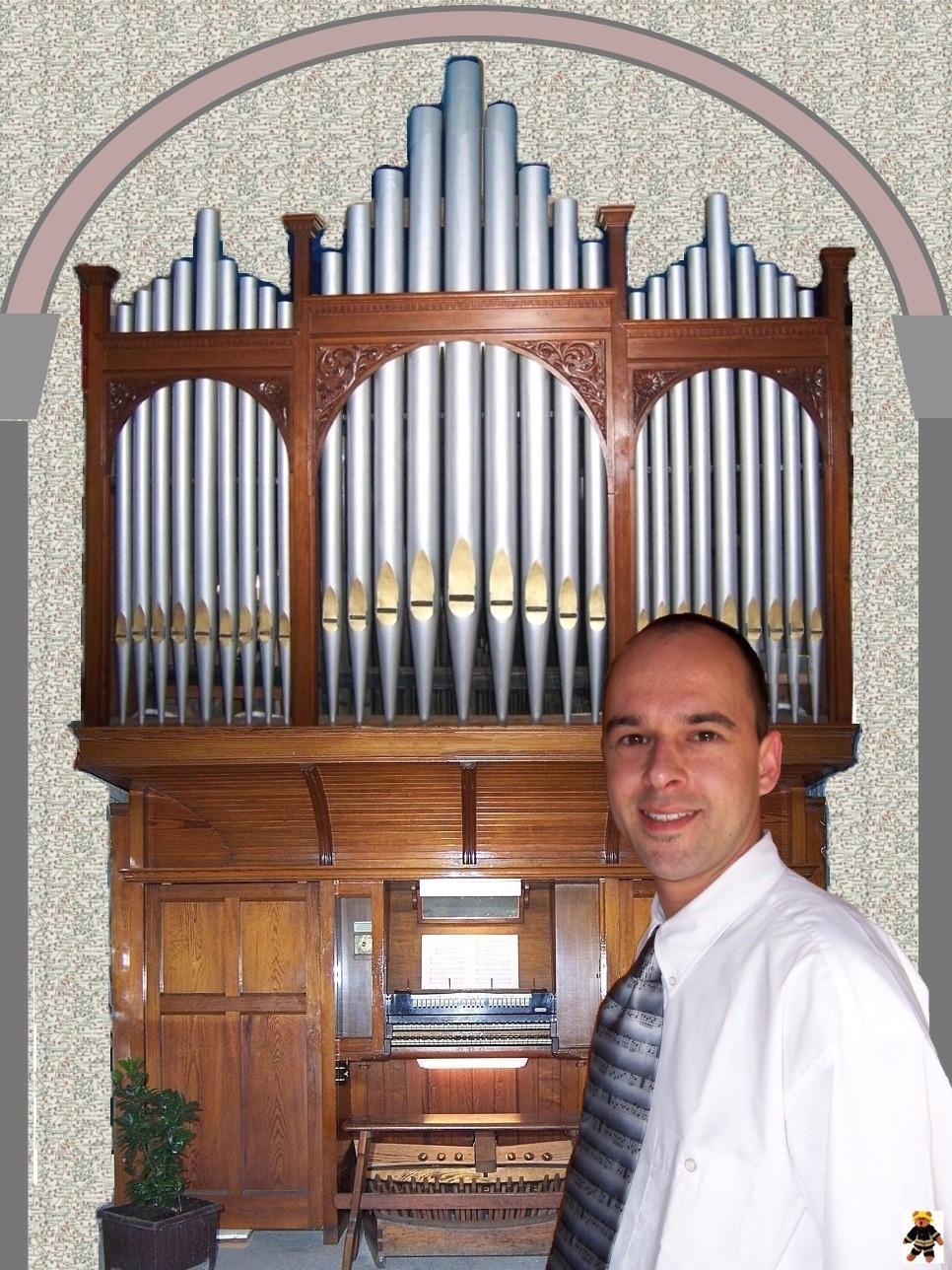 Die restaurierte Orgel, so wie sie am 15.April 2007 von mir vorgestellt wurde.