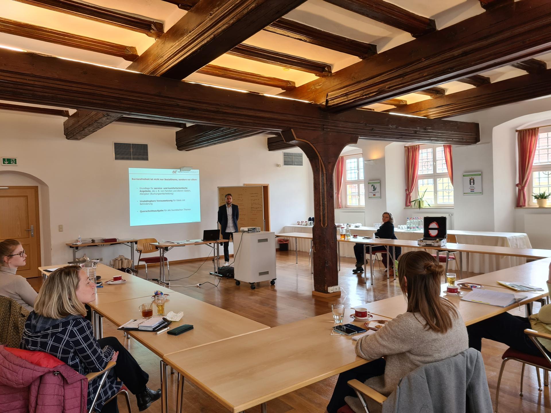(1) Erste KomfortDenker-Schulung in der Welterberegion Wartburg Hainich