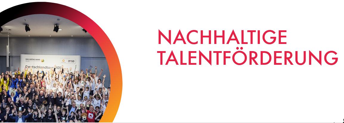 Nachhaltige Talentförderung