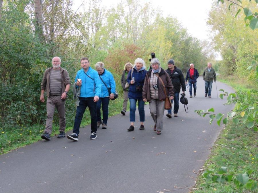 Wanderung am Südufer (!.Tag). Foto: H.B. Hartmann (25.10.2019)