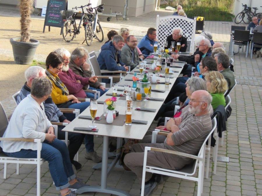 """Mittagessen in """"Marina"""" Mücheln.  Foto: H.B. Hartmann (26.10.2019)"""