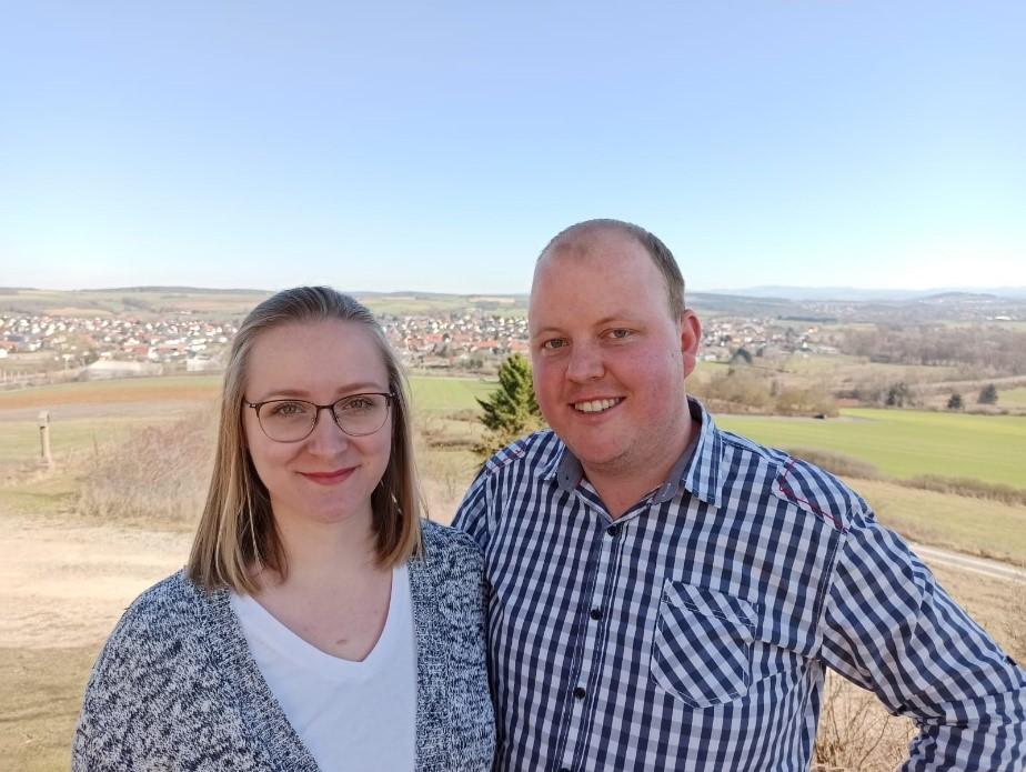 Lüdertalpaar Annemarie Hübl und Andreas Jahn