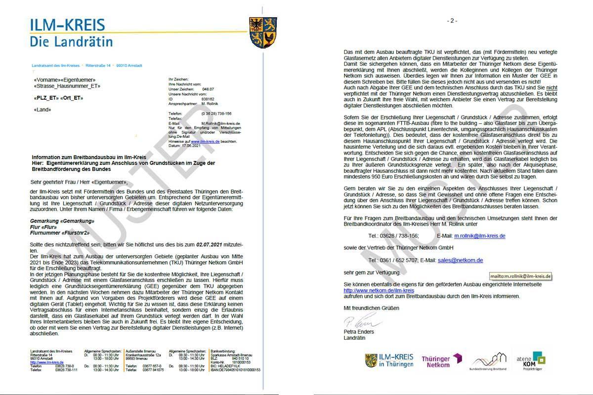 2021-06-16 _  Anschreiben zum Breitbandausbau_Ilm-Kreis-Muster